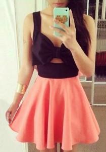 bow key dress