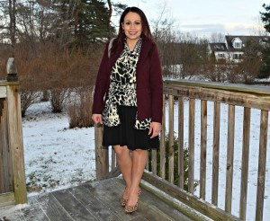 mixing animal print - weekend wear linkup