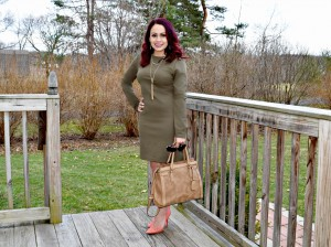 Styling Olive in Spring