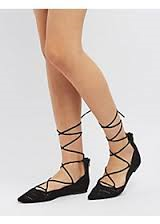 Qupid Laser-Cut Pointed Toe Flats