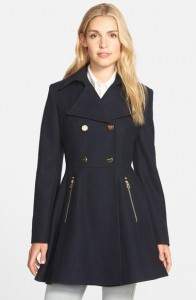 Melissa Mom with Style must have winter Nordstrom fit & flare coat