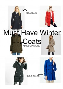 Melissa Mom with Style must have winter coats