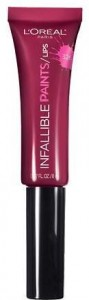 Melissa Mom with Style wintwe must have lips L'Oréal Infallible Paints in Sangria