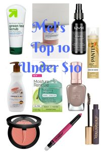 Melissa Mom with Style top 10 beauty products under $10