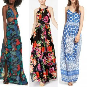 Melissa Mom with Style favorite printed maxi dress for summer