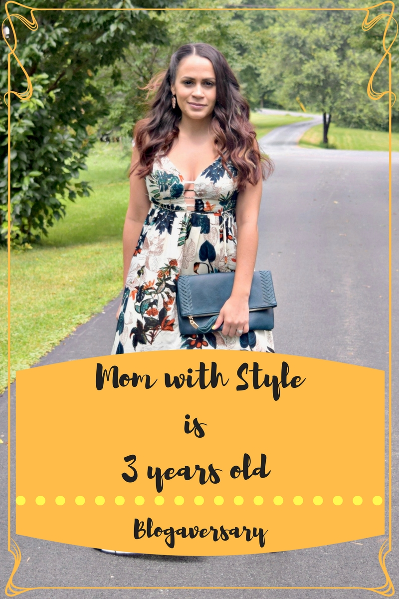 Melissa Mom with Style blog is three years old! Blogaversary