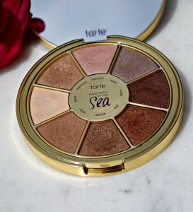 Melissa Mom with Style Tarte Rainforest of the Sea eyeshadow palette