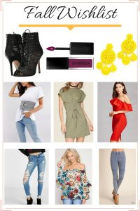 Melissa Mom with Style Fall Wishlist