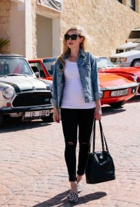 Melissa Mom with Style Weekend WearLinkup Feature Blogger
