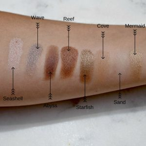 Melissa Mom with Style Tarte Rainforest of the Sea palette