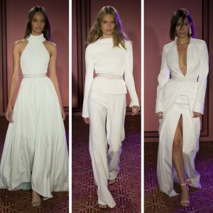 Melissa Mom with Style Brandon Maxwell Spring Line Favs: All White Look