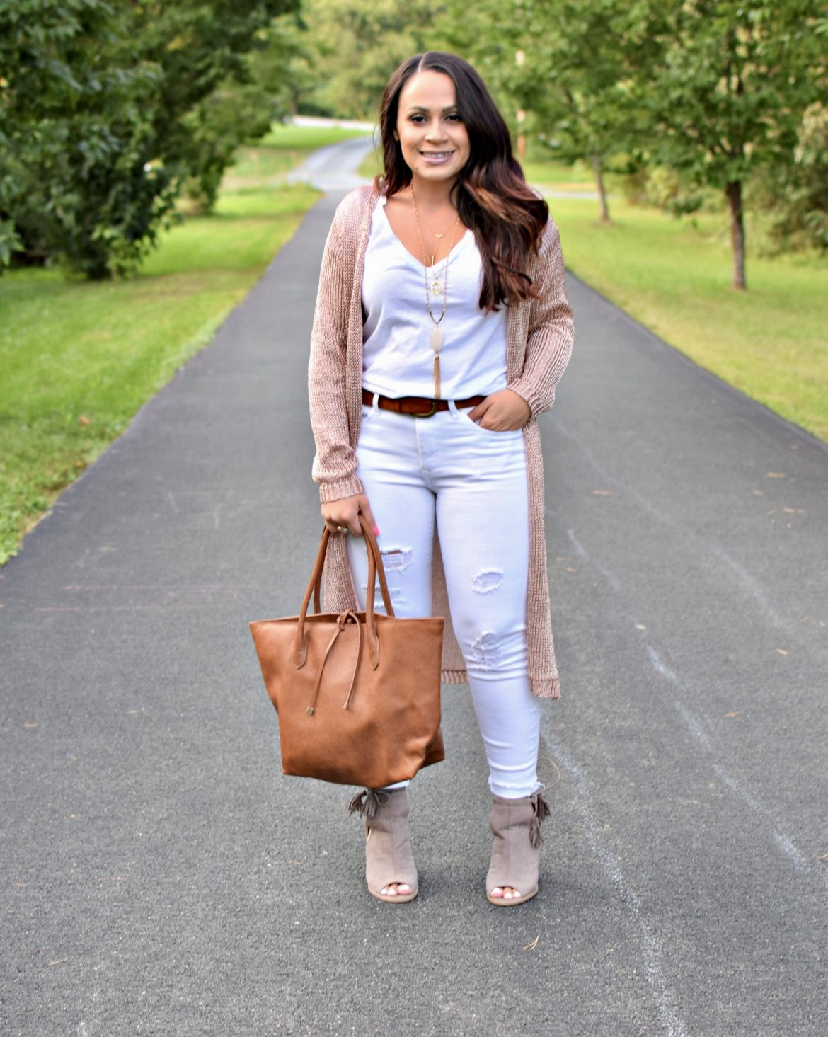 Melissa Mom with Style Petite Guide: How to Rock a Duster Sweater