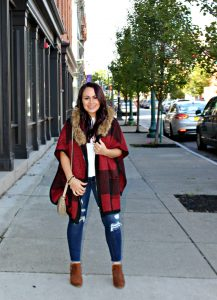 Melissa Mom with Style fall look for moms