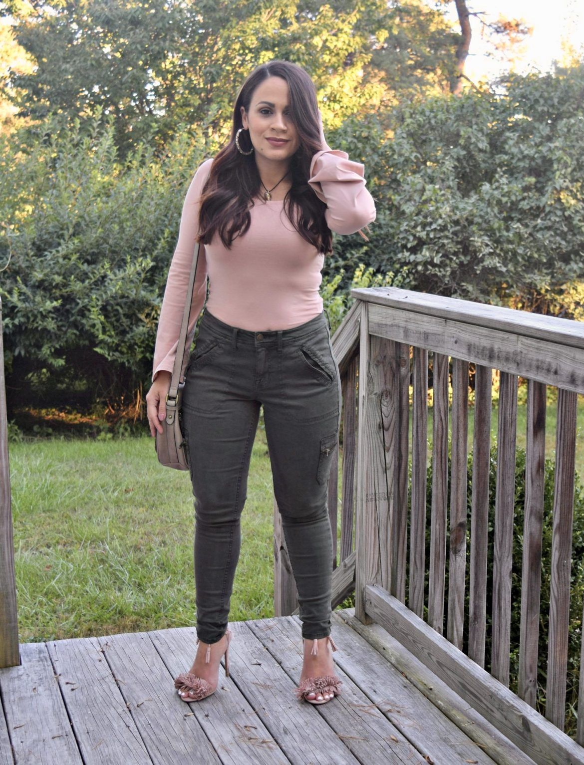 Melissa Mom with Style Styling Utility Pants For Date Night