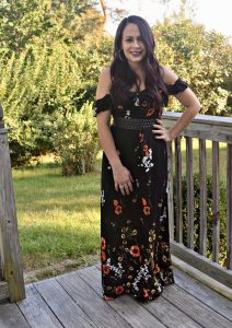 Melissa Mom with Style Maxi dress hack