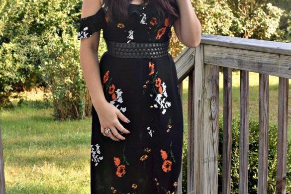 Melissa Mom with Style petite hacks: maxi dress