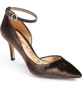 Melissa Mom with Style Black Friday Wish List: Nordstrom Sam Edelman Ankle Strap Heels