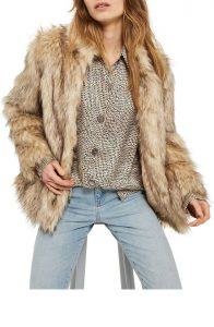 Melissa Mom with Style Black Friday Wish List: Nordstrom Faux Fur Coat