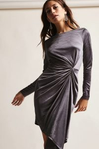 Melissa Mom with Style Thanksgiving Dresses: Stain dress in sliver