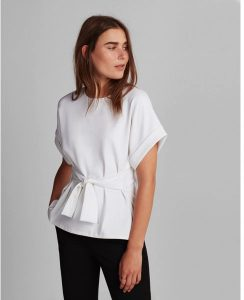 Melissa Mom with Style Black Friday Wish List: Express Tie Waist Blouse