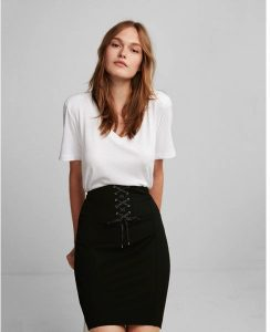 Melissa Mom with Style Black Friday Wish List: Express Corset Pencil Skirt