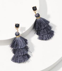 Melissa Mom with Style Black Friday Wish List: Loft Statement Earrings