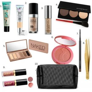 Melissa Mom with Style What's in my Travel Makeup Bag