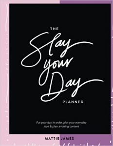 Melissa Mom with Style Girl Boss Planners: The Slay Your Day Planner