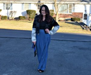 Melissa Mom with Style How To Wear A Maxi In Winter