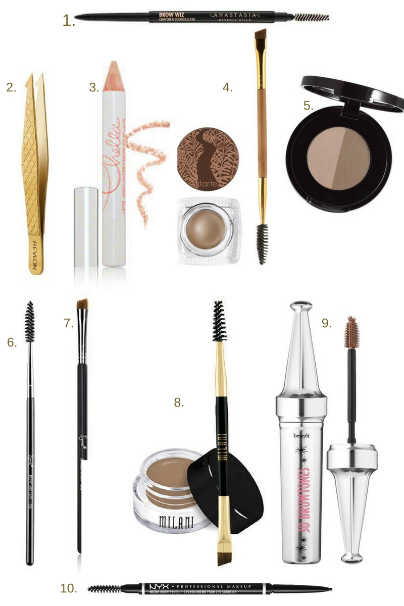 Top 10 Eyebrow Products Mom With Style Kuas Mascara Shadow Anastasia Melissa
