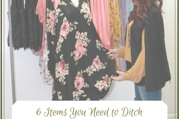 Melissa Mom with Style 6 Items You Need to Ditch Right Now