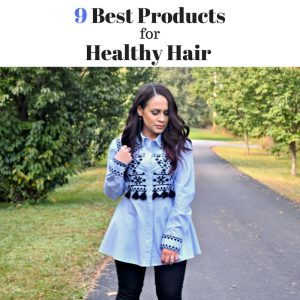 Melissa Mom with Style 9 Best Products for Healthy Hair