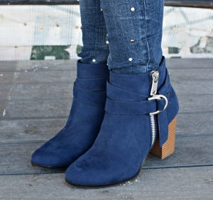 Melissa Mom with Style Kohl's blue booties
