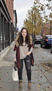 Melissa Mom with Style My Winter Minimalist Look