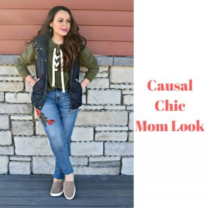 Melissa Mom with Style Causal Chic Mom Look