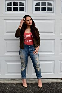 Melissa Mom with Style Petite Guide: How to Rock Boyfriend Jeans
