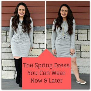 Melissa Mom with Style The Spring Dress You Can Wear Now & Later