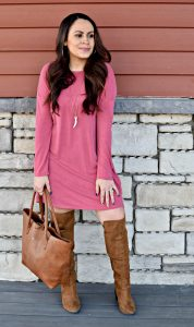 Melissa Mom with Style Open Back Tunic