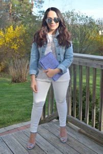 Melissa Mom with Style 6 Spring Looks Any Mom Can Rock Denim Jackets