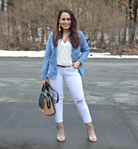 Melissa Mom with Style 6 Spring Looks Any Mom Can Rock Denim and All White