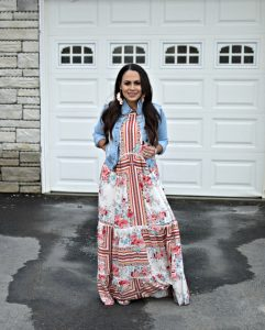 Melissa Mom with Style Bohemian Easter Look
