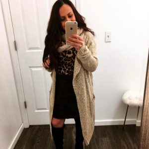 Melissa Mom with Style Insta Roundup featuring Bella V Boutique cozy scarf cardigan