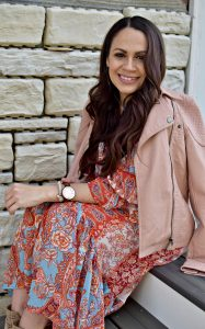 Melissa Mom with Style The Rose Gold Accessory You Need This Spring: Unique Watch