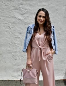 Melissa Mom with Style Petite Guide: The Prefect Jumpsuit