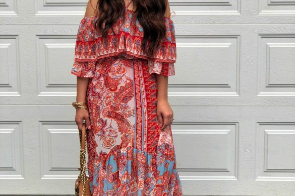 Melissa Mom with Style Bohemian Summer Maxi