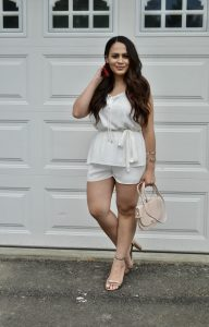 Melissa Mom with Style 3 Must Have White Dresses For Bridal Events: Dressy Romper