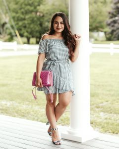 Mom with Style Gingham for Date Night + WW Linkup