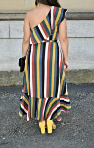 Melissa Mom with Style The Stripe Dress that Flatters Your Shape