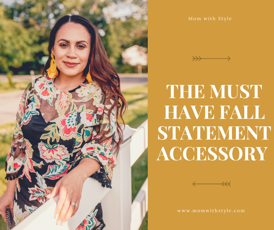 Melissa Mom with Style The Must Have Fall Statement Accessory