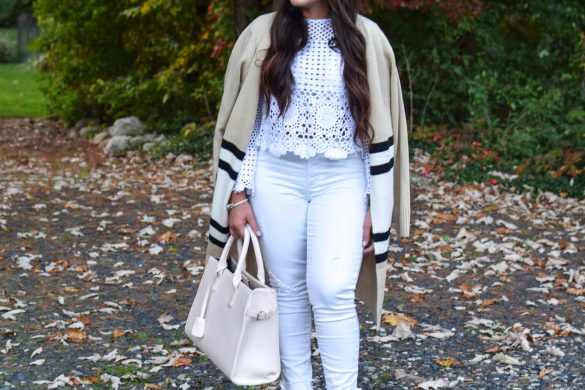 Melissa Mom with Style How to Wear White in Fall